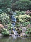 Heavenly Falls in Portland, Oregon. Heavenly Falls in the Japanese Garden in Portland, Oregon Stock Photo