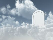 Heavenly grave Royalty Free Stock Photo