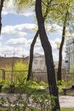 Heavenly Hundred Square, Kiev, Ukraine Stock Image