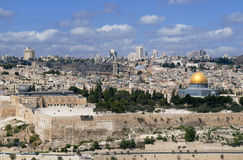 The Heavenly Jerusalem Stock Image