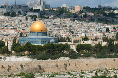 Heavenly Jerusalem Stock Image