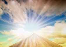 Heavenly journey Royalty Free Stock Image