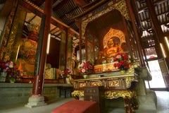Heavenly Kings and Maitreya. Stock Photography