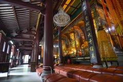 Heavenly Kings and Maitreya. Royalty Free Stock Photos