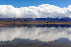 Heavenly Lake Stock Photography