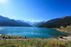 The heavenly lake Stock Images