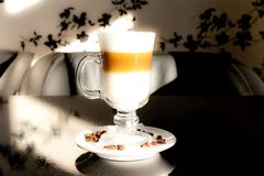 Heavenly latte. Very soft photo of a caffe latte Royalty Free Stock Images