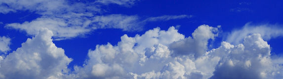 Heavenly panorama Stock Photography