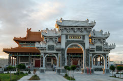 Heavenly Queen Buddhist Temple in Footscray, Australia. The Heavenly Queen Buddhist Temple in the Melbourne western suburb of Footscray in Australia. The temple Stock Photography