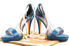 Heavenly shoes Royalty Free Stock Images