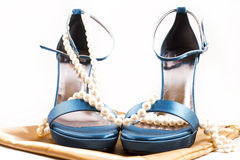 Heavenly shoes Royalty Free Stock Photography
