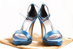 Heavenly shoes Royalty Free Stock Photos