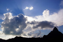 Heavenly Sky Royalty Free Stock Photos