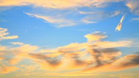 Heavenly sky Stock Photo