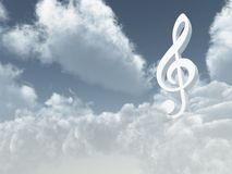Heavenly sound Stock Images