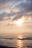 Heavenly Summer Sunrise Over Ocean Royalty Free Stock Photos