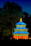 The Heavenly Temple in the Gardens Stock Photography