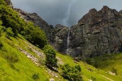 Heavenly waterfall Stock Image