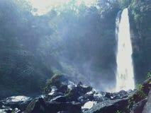 Heavenly Waterfall royalty free stock photo