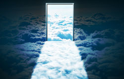 Heavens Door. The door to heaven Royalty Free Stock Photography