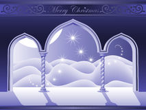 Heavens door of christmas Royalty Free Stock Image