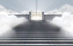 Heavens Gates Royalty Free Stock Images