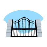 Heavens Gates Stock Images