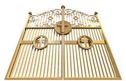 Heavens Golden Gates Isolated Stock Photo
