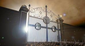 Heavens Open Gates Stock Image