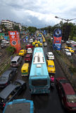 Heavey traffic jam Stock Photography