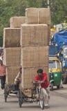 Delhi - India - Heavily Loaded Stock Images