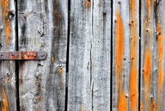 Heavily textured old wood planks Stock Photos