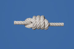 Heaving Line Knot Stock Photo