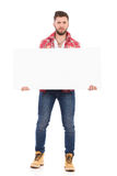 Heavy banner Royalty Free Stock Photo
