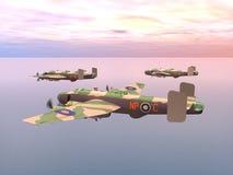 Heavy Bomber Halifax Stock Photos