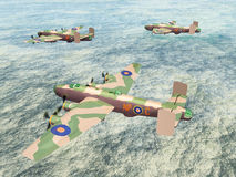 Heavy Bomber Halifax Royalty Free Stock Image
