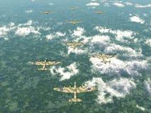 Heavy Bomber Halifax Stock Images