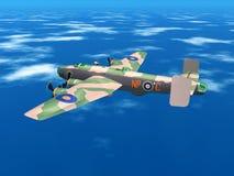 Heavy Bomber Halifax Royalty Free Stock Photography