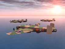 Heavy Bomber Halifax Royalty Free Stock Images