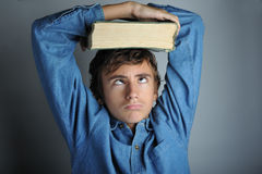 Heavy book Stock Photography
