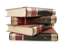 Heavy book tomes Stock Photo