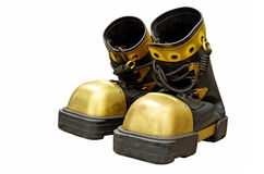 Heavy boots of the diver. Royalty Free Stock Image