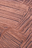 Heavy brushed copper Stock Photo