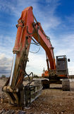 Heavy bulldozer Royalty Free Stock Image