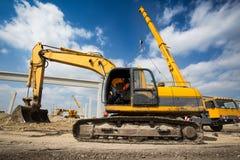 Heavy Bulldozer Royalty Free Stock Photos