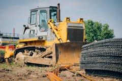 Heavy Bulldozer Stock Photography