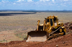Heavy bulldozer Royalty Free Stock Photo