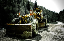 Heavy bulldozer Royalty Free Stock Photography