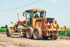 Heavy bulldozer Stock Image