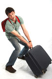 Heavy burden Stock Images